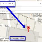 Coordinate-gelateria-su-maps