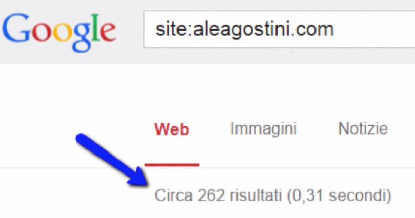 Comandi Avanzatii Google indicizzazione sito