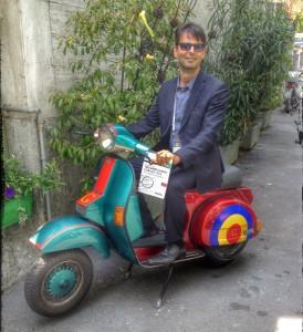 Moto Vespa nella Google House