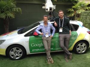 Auto provata Nella Google House