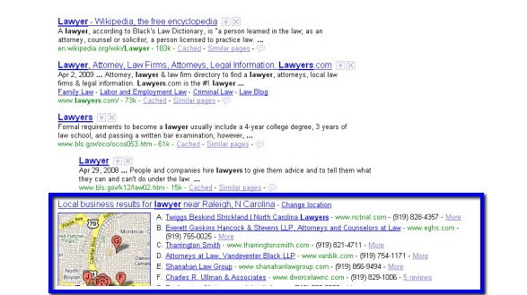 Mappe Google Marketing