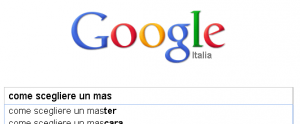 Google: come scegliere un master