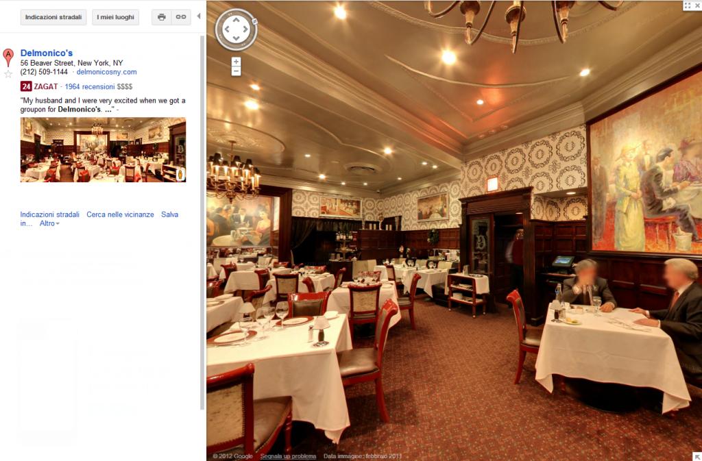 Tour virtuale Google Business Photos
