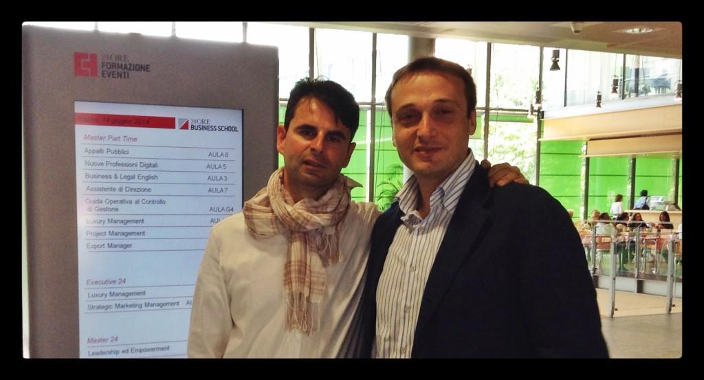Ale Agostini e Luca Bove su Google My Business