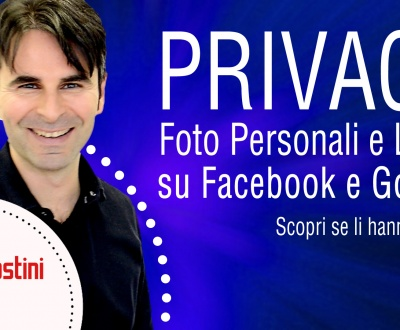 Privacy Foto online, scopri come preservarla