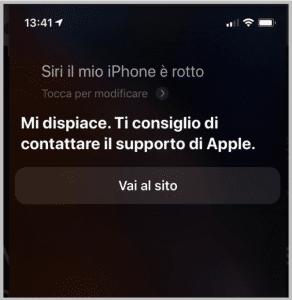 """""""Siri - il mio iPhone è rotto"""""""