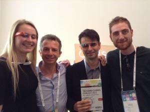 Foto di Gruppo nella Google House
