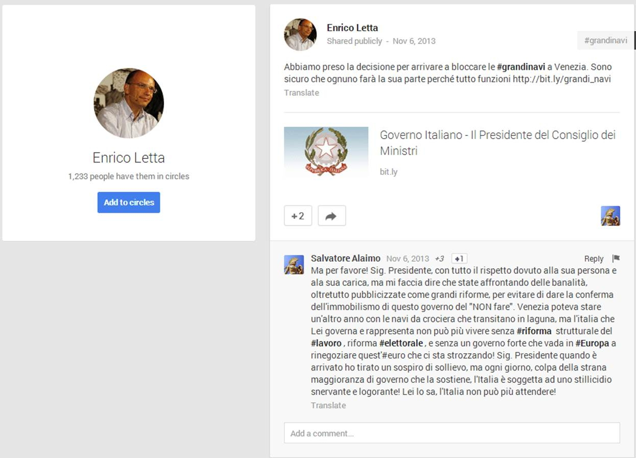 Cos'è il Knowledge Graph collegato a Google Plus